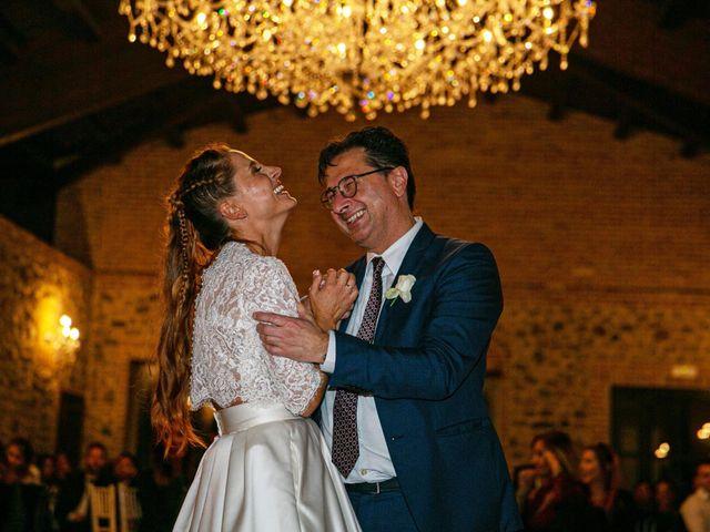 Il matrimonio di Valerio e Giulia a Rocca Susella, Pavia 32