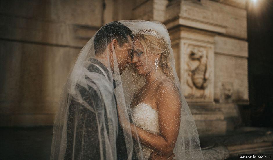 Il matrimonio di Agostino e Elisa a Roma, Roma