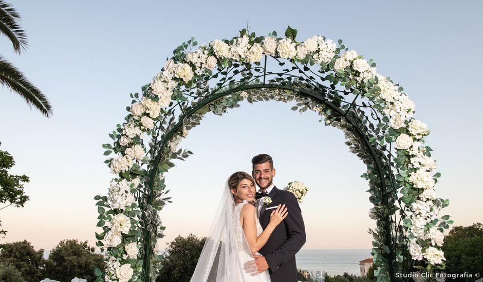 Il matrimonio di Consuelo e Giordano a Nettuno, Roma