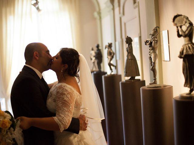 le nozze di Maria Francesca e Stefano