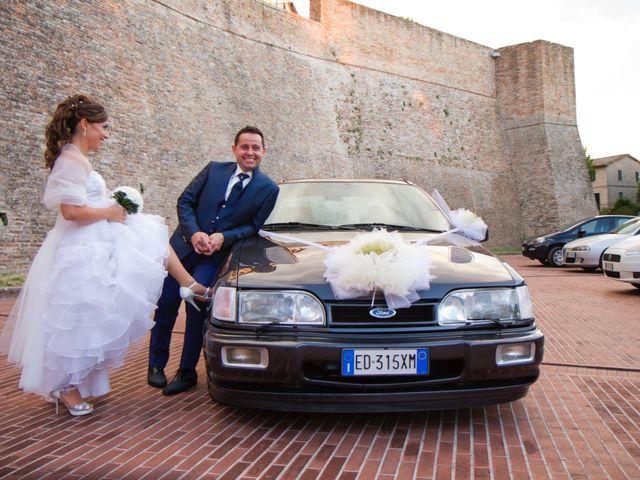 Il matrimonio di Alessio e Claudia a Rosora, Ancona 1