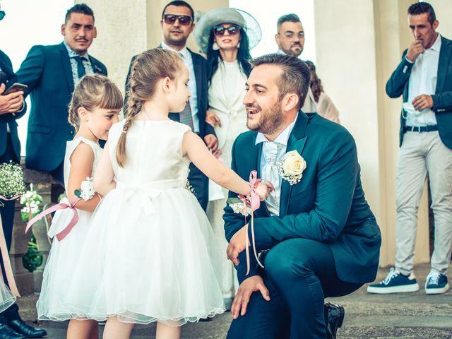 Il matrimonio di Paola e Angelo a Novara, Novara 40