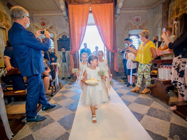 Il matrimonio di Paola e Angelo a Novara, Novara 45