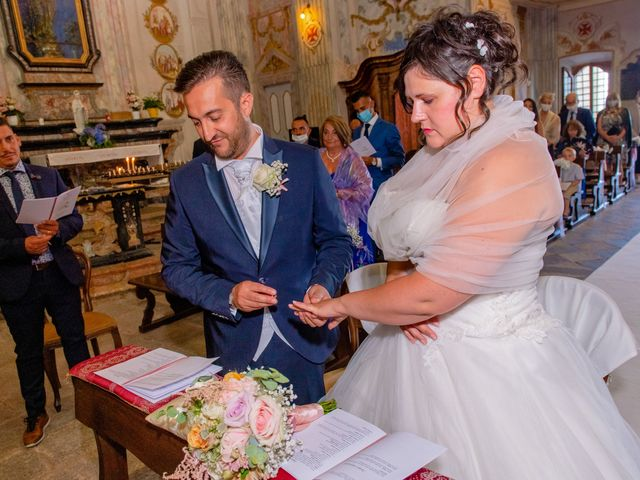 Il matrimonio di Paola e Angelo a Novara, Novara 47