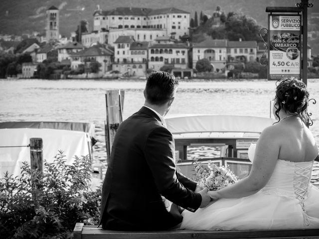 Il matrimonio di Paola e Angelo a Novara, Novara 77
