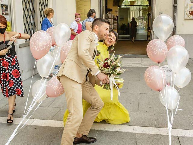 Il matrimonio di Nicholas e Cristina a Chiari, Brescia 123