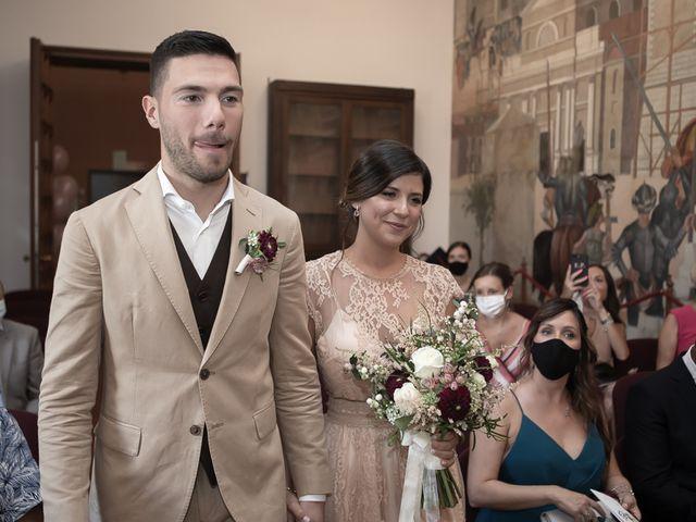 Il matrimonio di Nicholas e Cristina a Chiari, Brescia 138