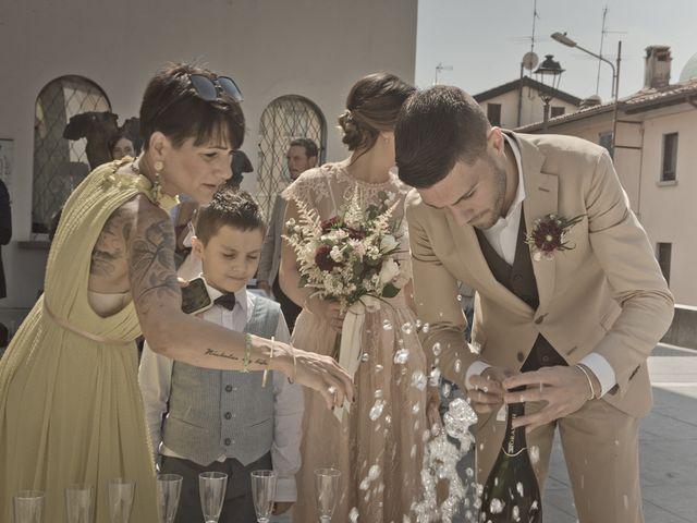Il matrimonio di Nicholas e Cristina a Chiari, Brescia 179