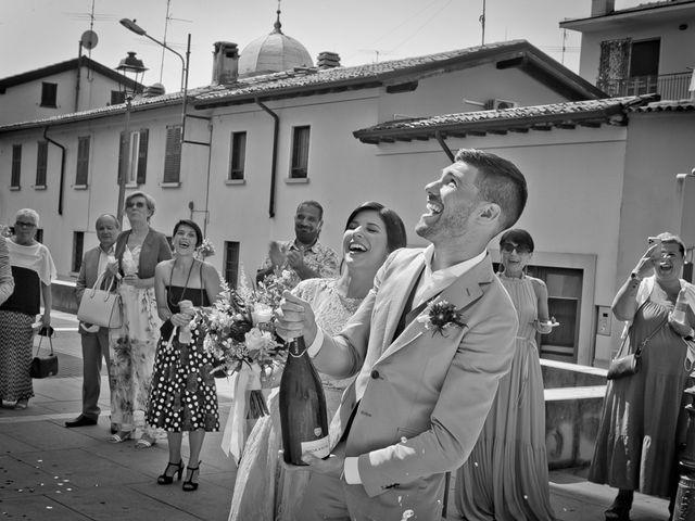 Il matrimonio di Nicholas e Cristina a Chiari, Brescia 180