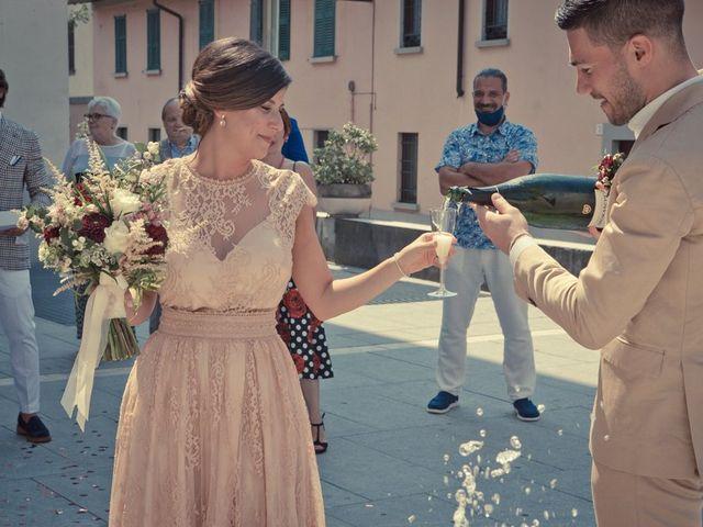 Il matrimonio di Nicholas e Cristina a Chiari, Brescia 181