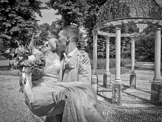 Il matrimonio di Nicholas e Cristina a Chiari, Brescia 189