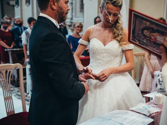 Il matrimonio di Giosuè e Francesca a Medicina, Bologna 45