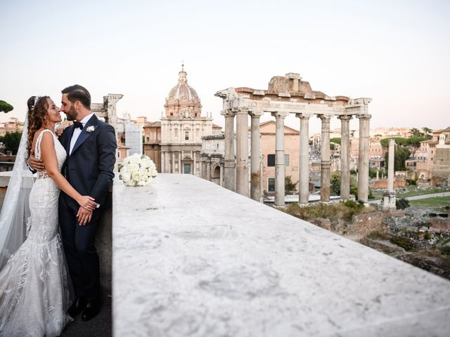 Il matrimonio di Eleonora e Alessandro a Roma, Roma 39