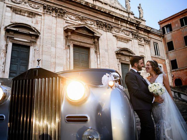 Il matrimonio di Eleonora e Alessandro a Roma, Roma 40