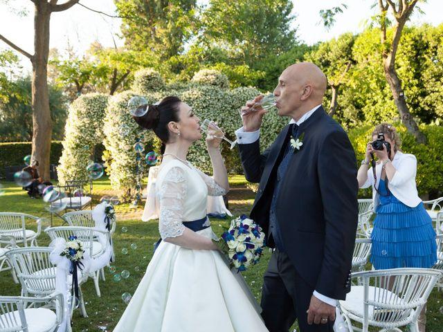 Le nozze di Sonia e Fabio Massimo