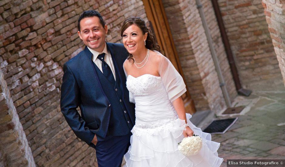 Il matrimonio di Alessio e Claudia a Rosora, Ancona