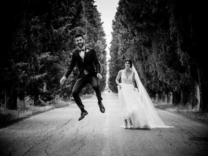 Le nozze di Giorgia e Leonardo