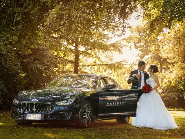 Le nozze di Ombretta e Germano
