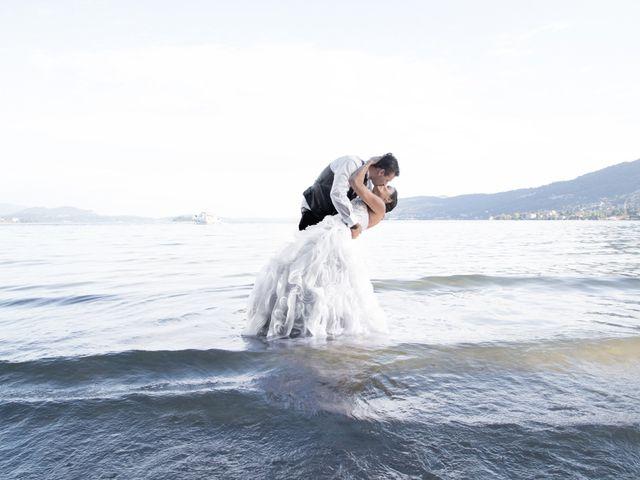 Le nozze di Greicy Kelly e William
