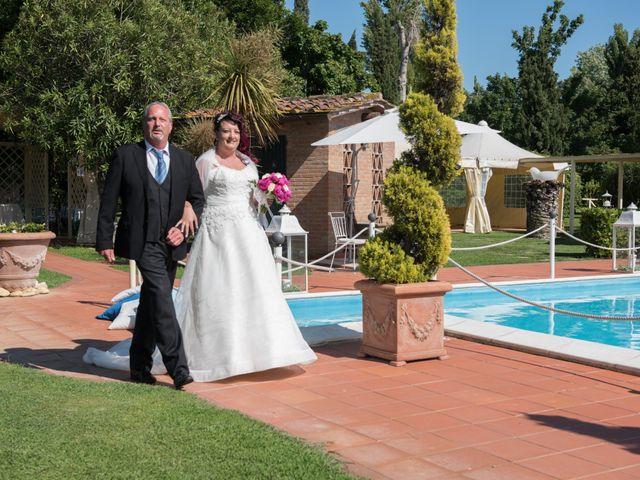 Il matrimonio di Giosuè e Martina a San Giuliano Terme, Pisa 6