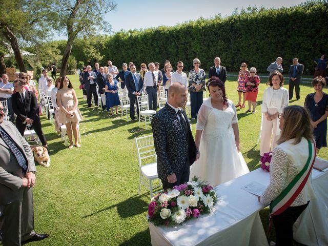 Il matrimonio di Giosuè e Martina a San Giuliano Terme, Pisa 8