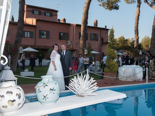 Il matrimonio di Giosuè e Martina a San Giuliano Terme, Pisa 22