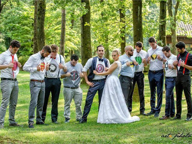 Il matrimonio di Tommy e Chicca a Desio, Monza e Brianza 11