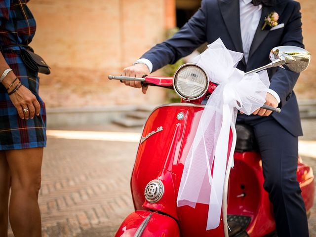 Il matrimonio di Leonardo e Martina a Cartoceto, Pesaro - Urbino 17
