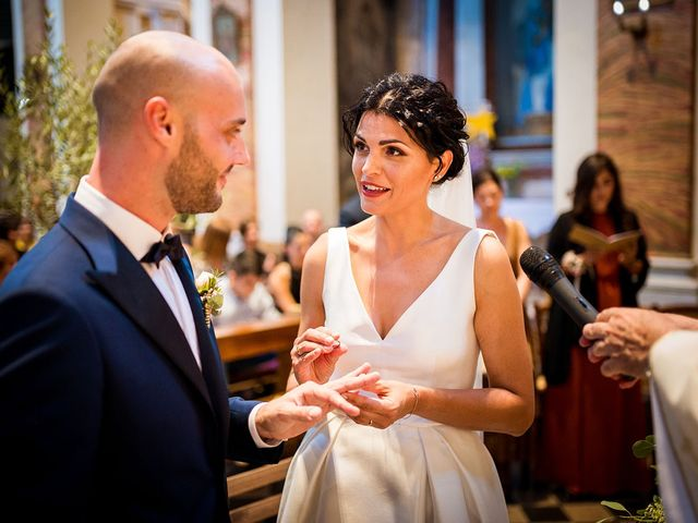 Il matrimonio di Leonardo e Martina a Cartoceto, Pesaro - Urbino 26