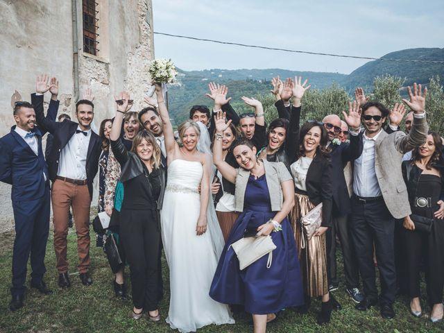 Il matrimonio di Valentina e Fabio a Negrar, Verona 100