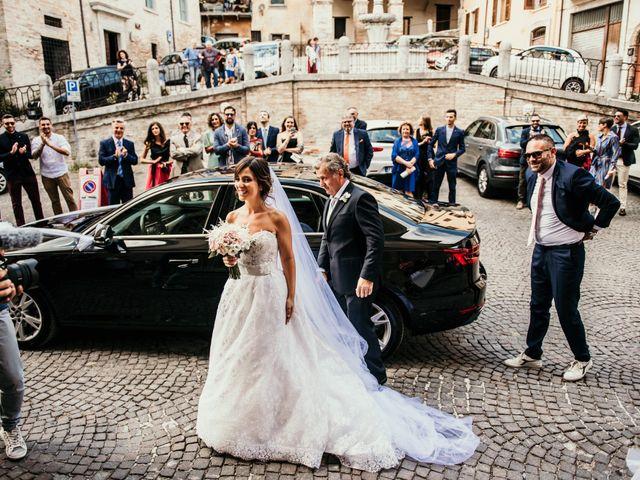 Il matrimonio di Alice e Michele a Fossombrone, Pesaro - Urbino 43