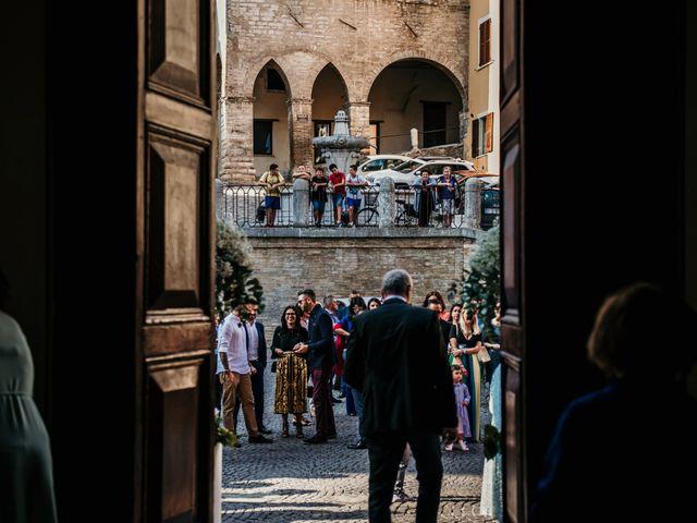 Il matrimonio di Alice e Michele a Fossombrone, Pesaro - Urbino 58