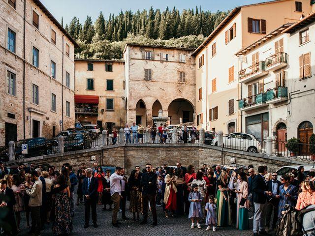 Il matrimonio di Alice e Michele a Fossombrone, Pesaro - Urbino 59