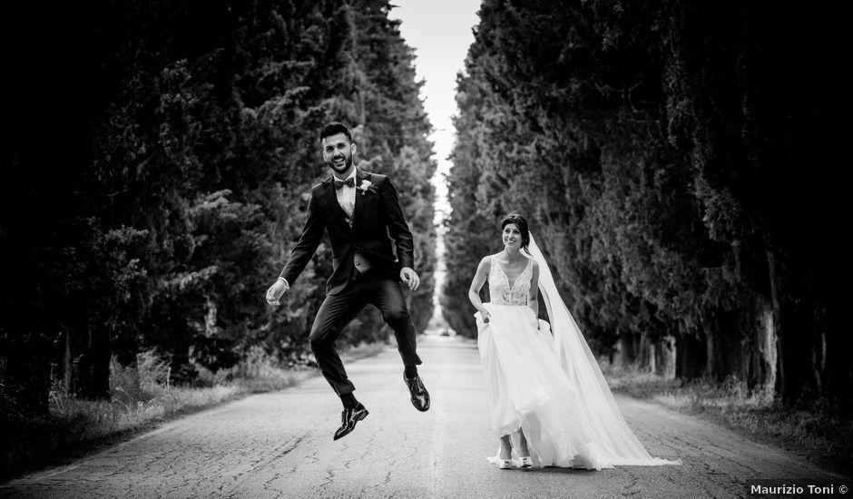 Il matrimonio di Leonardo e Giorgia a Corridonia, Macerata