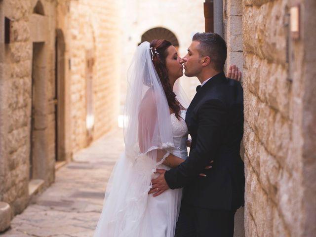 le nozze di Mariangela e Giovanni