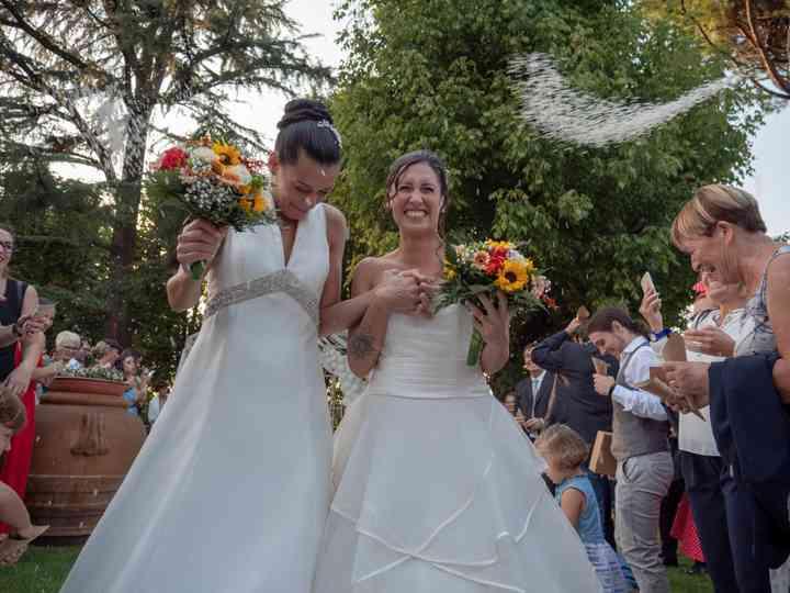 le nozze di Elena e Eleonora