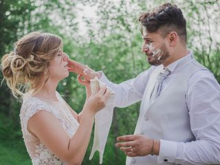 Le nozze di Giorgia e Ivan