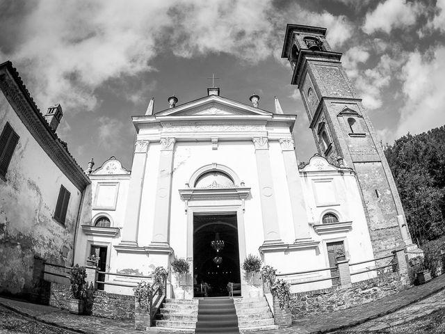 Il matrimonio di Davide e Chiara a Rocca Susella, Pavia 18