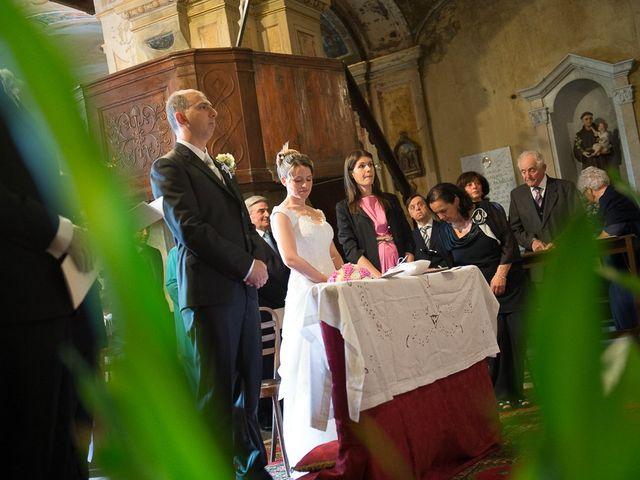 Il matrimonio di Davide e Chiara a Rocca Susella, Pavia 26