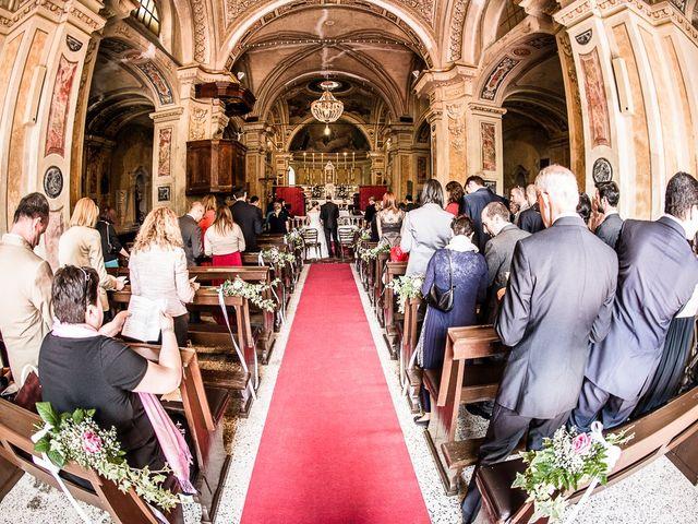 Il matrimonio di Davide e Chiara a Rocca Susella, Pavia 27