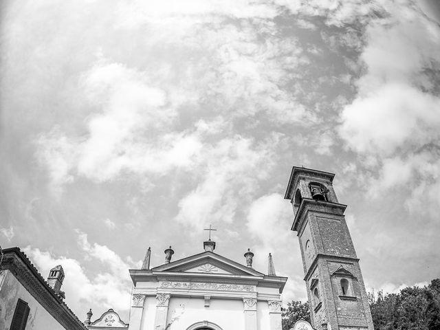Il matrimonio di Davide e Chiara a Rocca Susella, Pavia 37
