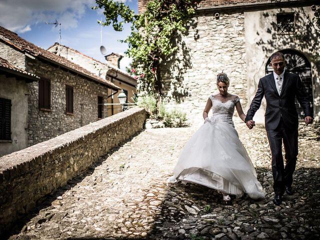 Il matrimonio di Davide e Chiara a Rocca Susella, Pavia 56