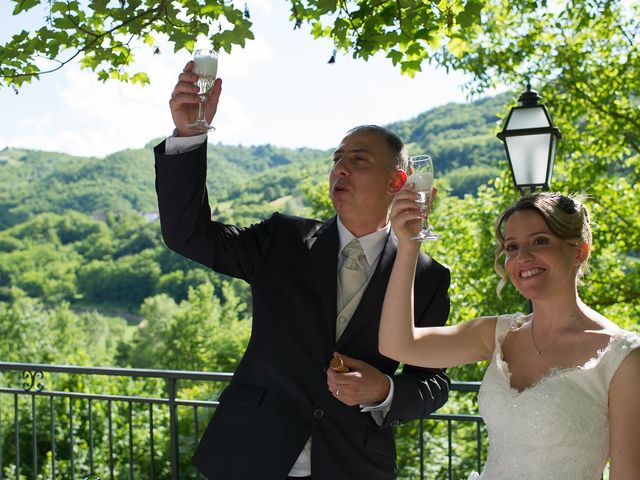 Il matrimonio di Davide e Chiara a Rocca Susella, Pavia 61