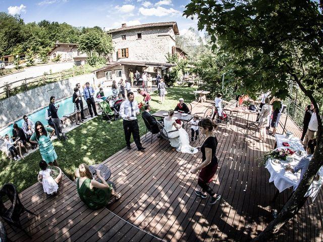 Il matrimonio di Davide e Chiara a Rocca Susella, Pavia 68