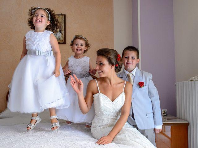 Il matrimonio di Adriano e Jessica a Sant'Angelo a Cupolo, Benevento 13
