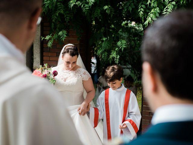 Il matrimonio di Alberto e Marta a Comignago, Novara 20