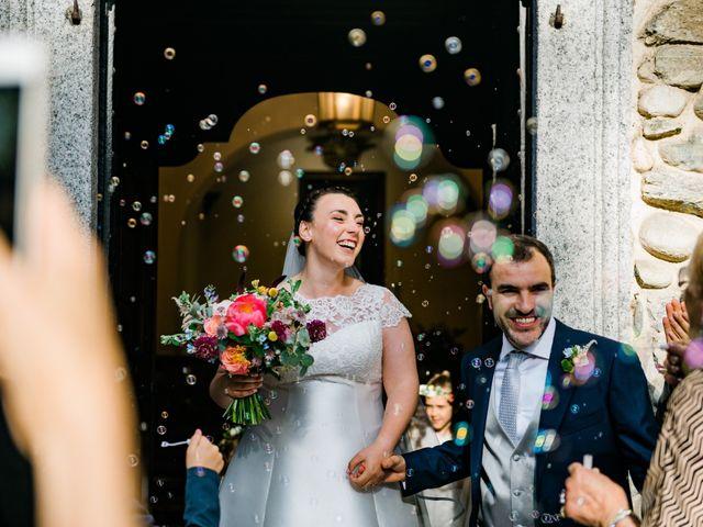 Il matrimonio di Alberto e Marta a Comignago, Novara 28