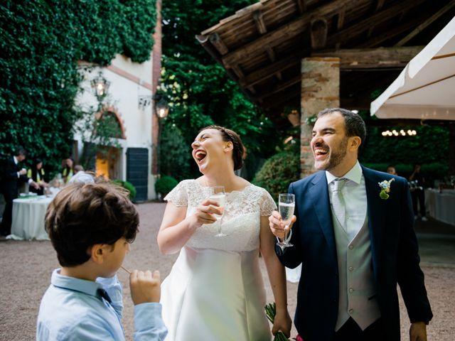 Il matrimonio di Alberto e Marta a Comignago, Novara 35