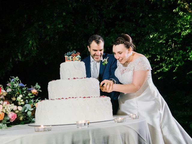 Il matrimonio di Alberto e Marta a Comignago, Novara 37