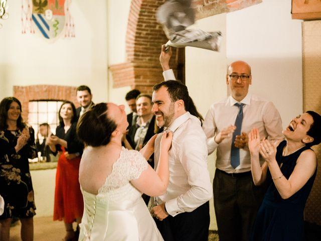 Il matrimonio di Alberto e Marta a Comignago, Novara 40